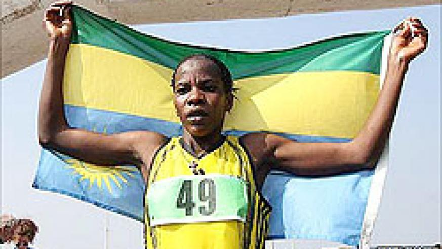 Nyirabarame will lead Rwanda's charge at this week's World Military Games in Rio de Janeiro