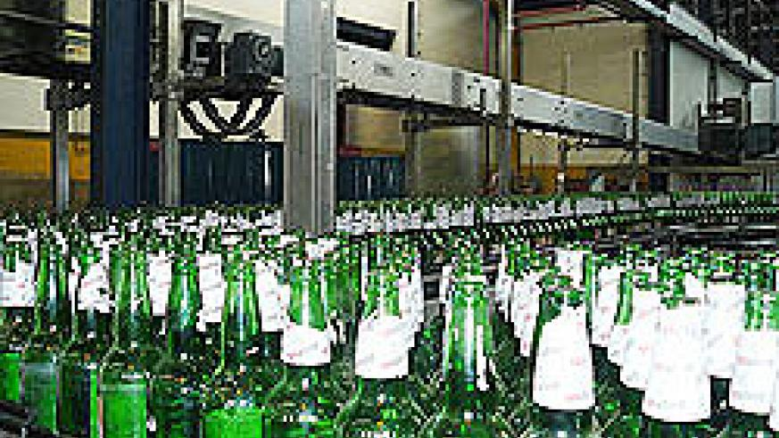 Bralirwa's beer plant in Gisenyi . The company has increased beer prices (File photo)