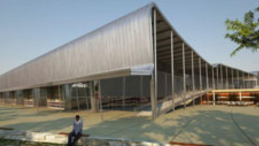 The artistic impression of the planned trade and exhibition centre.( File Photo)