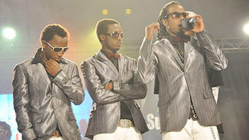 Urban Boyz refused to perform on the elimination night after they were booted out of the competition. (All photos by David Nkurunziza)