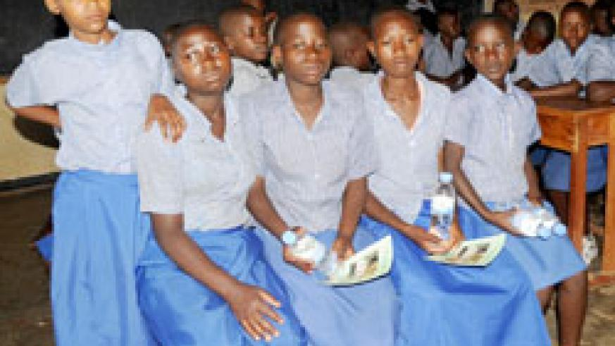 Young girls are expected to benefit from the new 12+ program (File Photo)