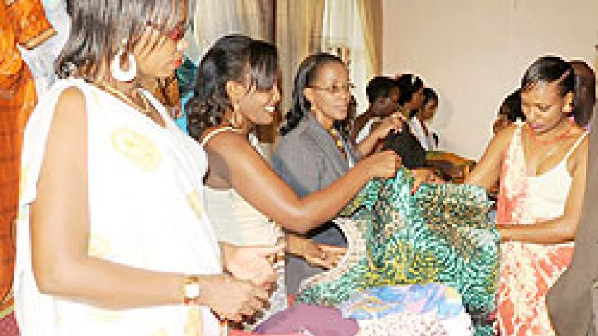 Women enterprenuers are set to benefit from the EAC meet in Kigali (File Photo)