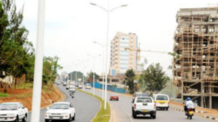The Kigali road network