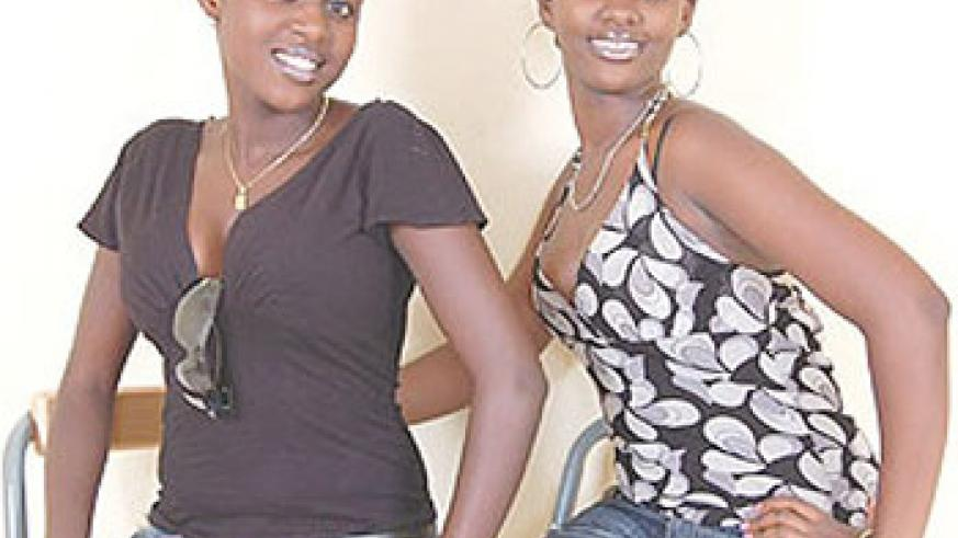 Old days. Queen Grace (left) and Queen Nadeje. (Courtesy photo).