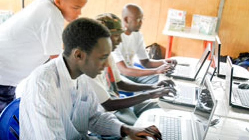Students have been urged to use their acquired ICT skills to bolster investment (File Photo)