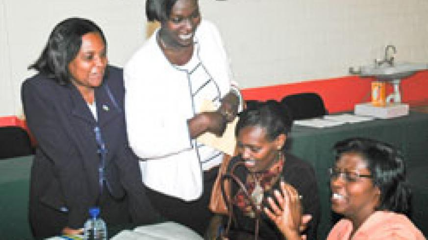 Women MPs at a past function. The women parliamentary body started preparations to mark 15 years (File Photo)