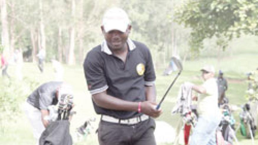 Jean Baptist Hakizimana is aiming to better his performances from the first three legs.