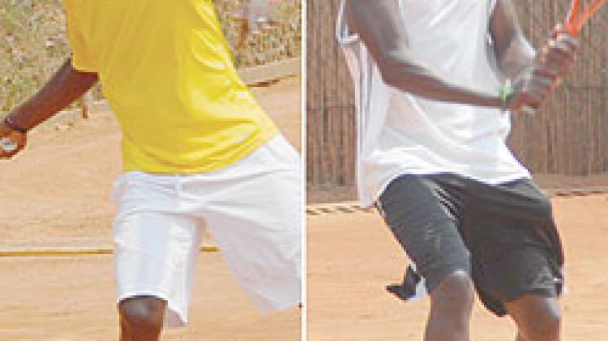 Second seed Jean de Dieu Habiyambere lost in the quarterfinals. Times Sports/ Bonnie Mugabe