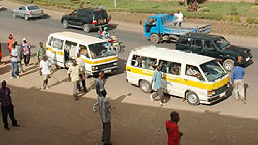 ATRACO commuter Buses, the trasport body has pledged to enhance service delivery The New Times File