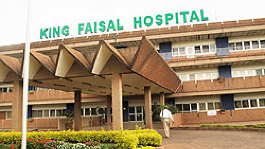 King Fisal Hospital has acquired a new facility to help decongest the Intensive Care Unit section The New Times File