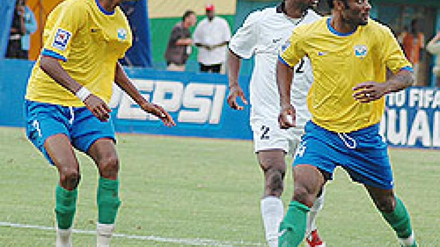 Amavubi striker Saidi Abedi joins Rayon Sports on a one-year contaract. The New Times / File.