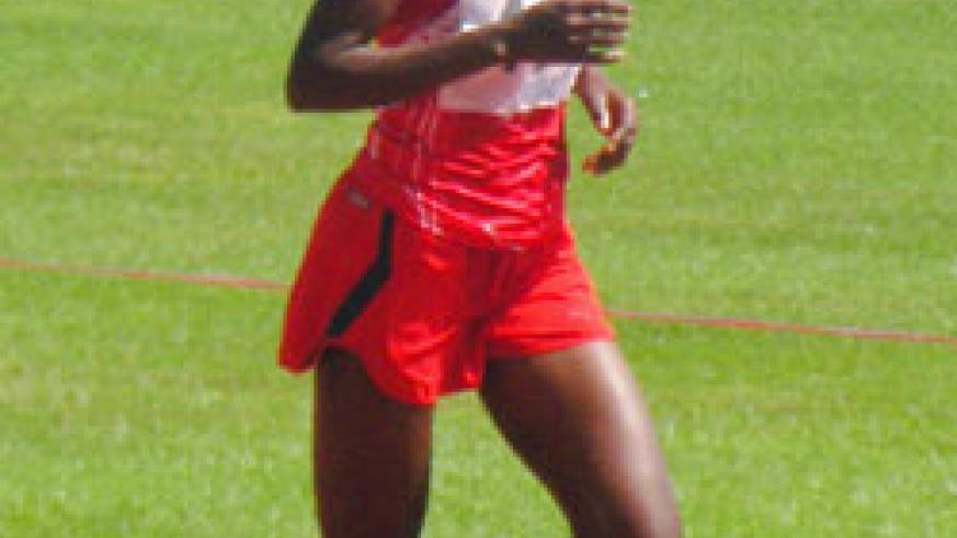 Two-time Olympian Epiphanie Nyirabarame will also compete in the women's half marathon. The New Times/file