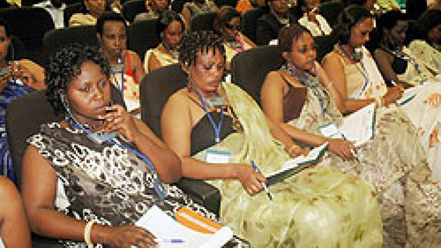 Rwandan women intreprenuers have been urged to seize the opportunity. The New Times File