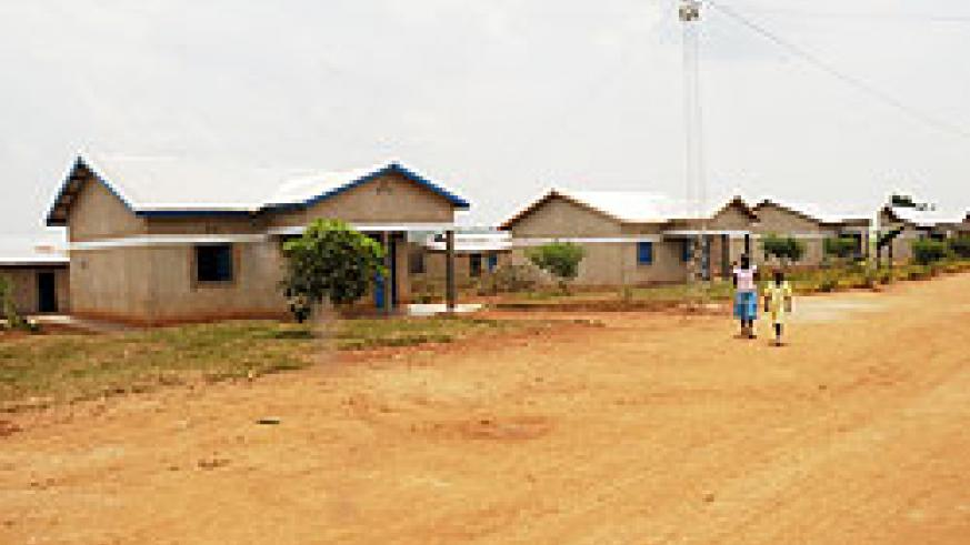 Village in Kayonza District connected to electricity. The New Times /John Mbanda