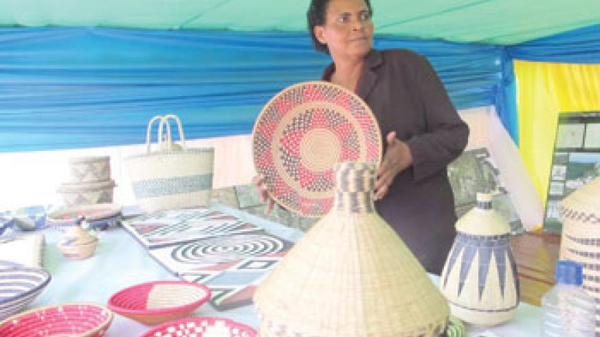 A Beautifully woven basket. The New Times/G. Ntagugira