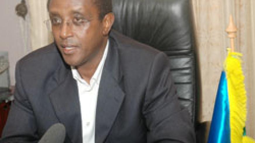 Senate Presdient Vincent Biruta is in Malawi for the CPA meet. The New Times /File