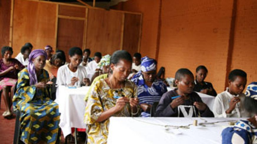 Once women are provided with financial capacity, they will be able to contribute to national development. The Newtimes /File
