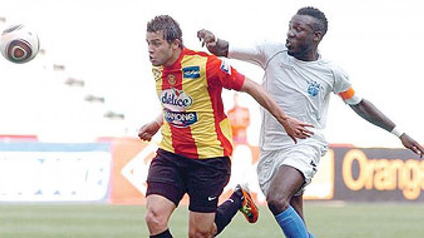 Esperance of Tunisia (right) and Raja's city rivals Wydad - face off in Casablanca. Net photo