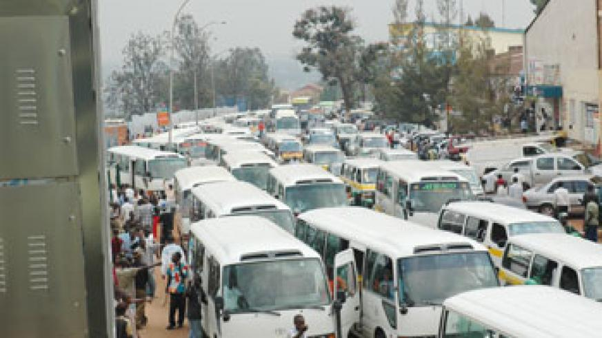 Drivers should be educated on the dangers of bribing traffic police officers. The Newtimes / File.