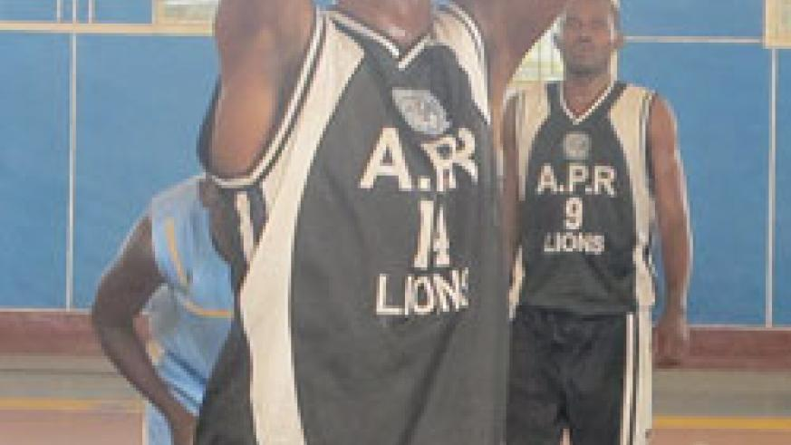 Kami Kabange is one the players Vaceslav will count on in Madagascar.  The New Times / File