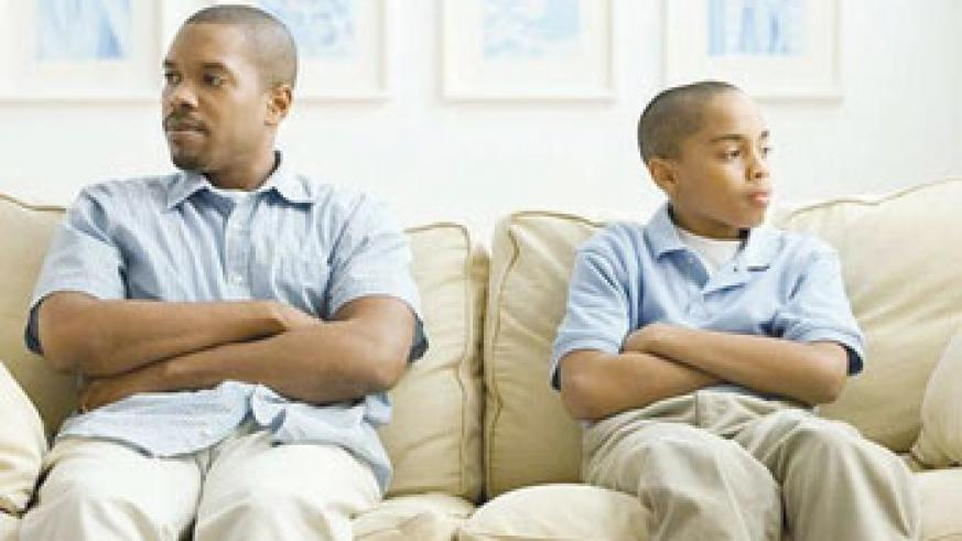 Conversing with parents can sometimes be difficult. Try to find a common topic of interest.  Net photo