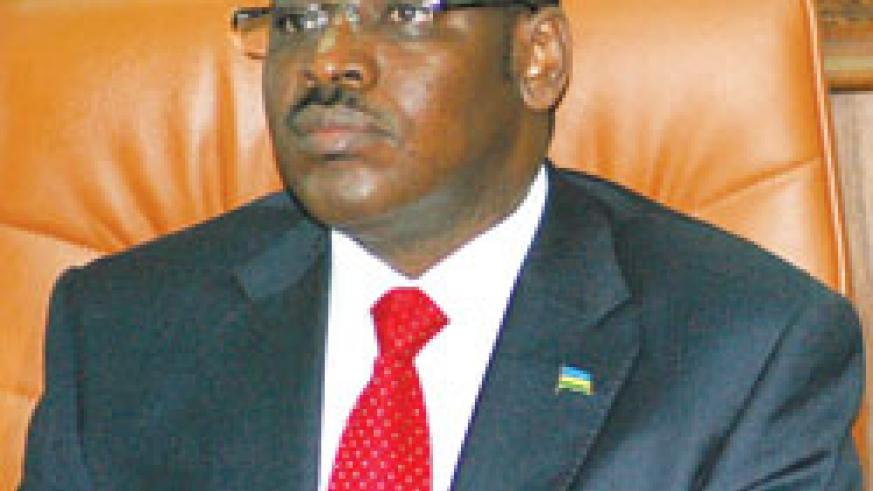 Central bank Governor Claver Gatete The New Times /File.