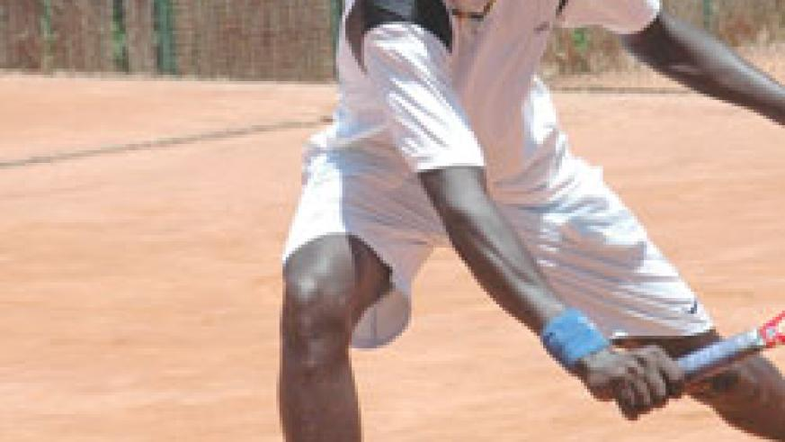 Jean Claude Gasigwa in action during a past tournament.The New Times / File