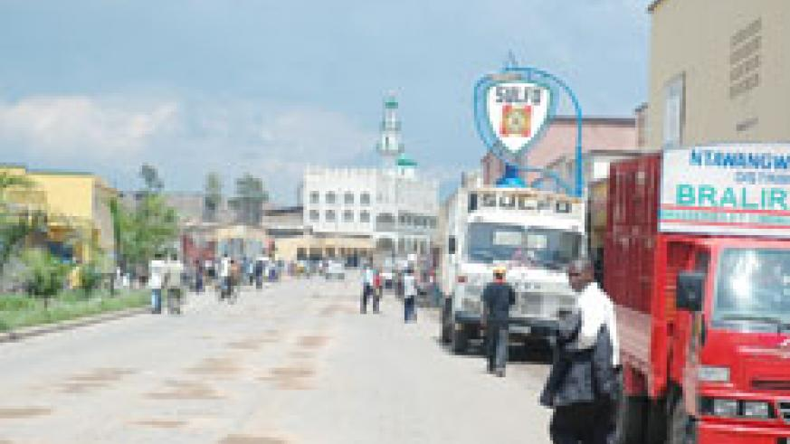 Rubavu roads will be constructed to boost cross-border trade. The New Times /File.