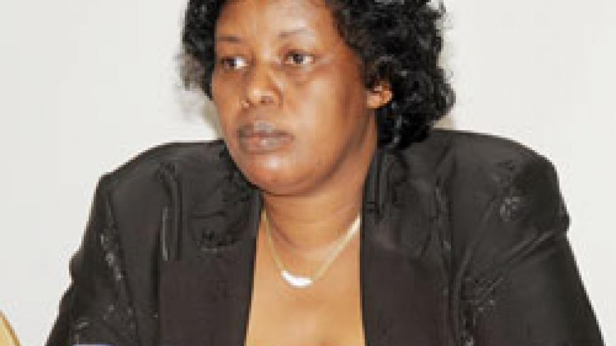 The Deputy Chief Monitor Eugenie Kabageni