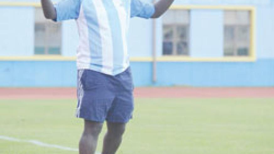 Ntagwabira can't wait to see his new signings in action. The New Times / File