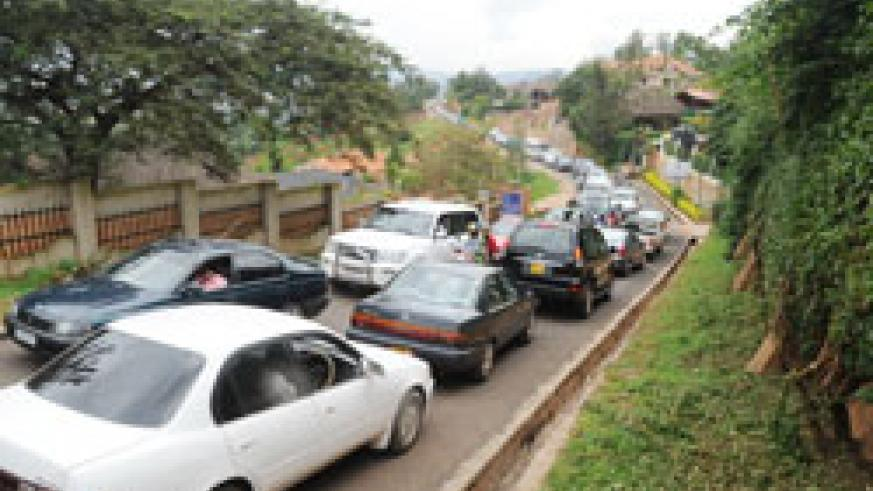 Kigali motorists have slammed fines charged in the city's parking lots as unjust. The New Times /File.