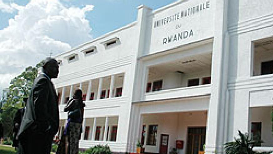 The National University of Rwanda has harmonised tuition fees for East African citizens. The New Times /File Photo