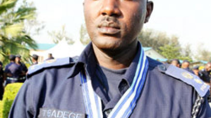 Police Spokesperson Theos Badege  The New Times /File