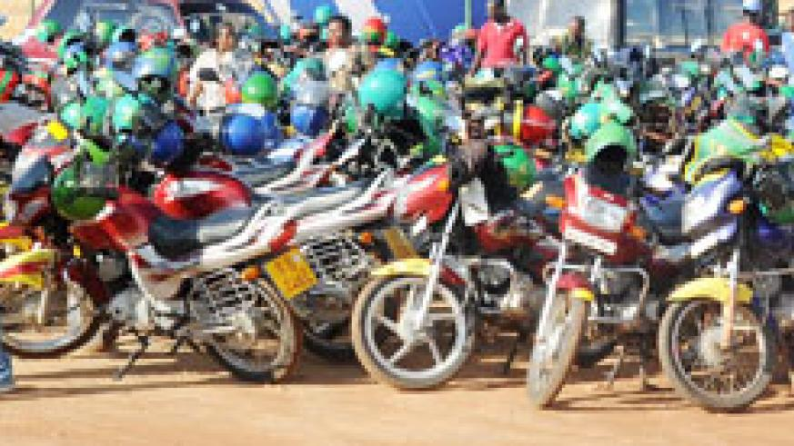 Over 1,000 motorcycles have been impounded this month in an operation mounted by police after a reported increase in the number of accidents involving them. The New Times /File.