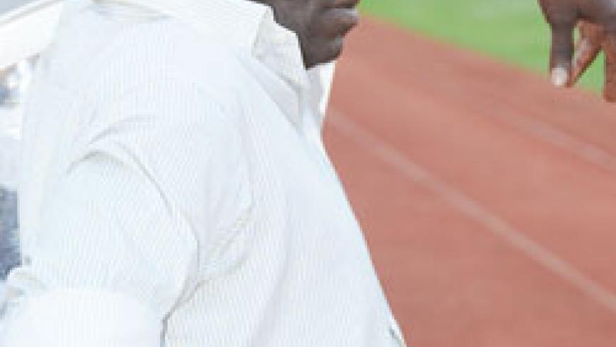 IMPRESSED: Tetteh 'satisfied' after Amavubi's 0-0 draw. Courtsey photo.