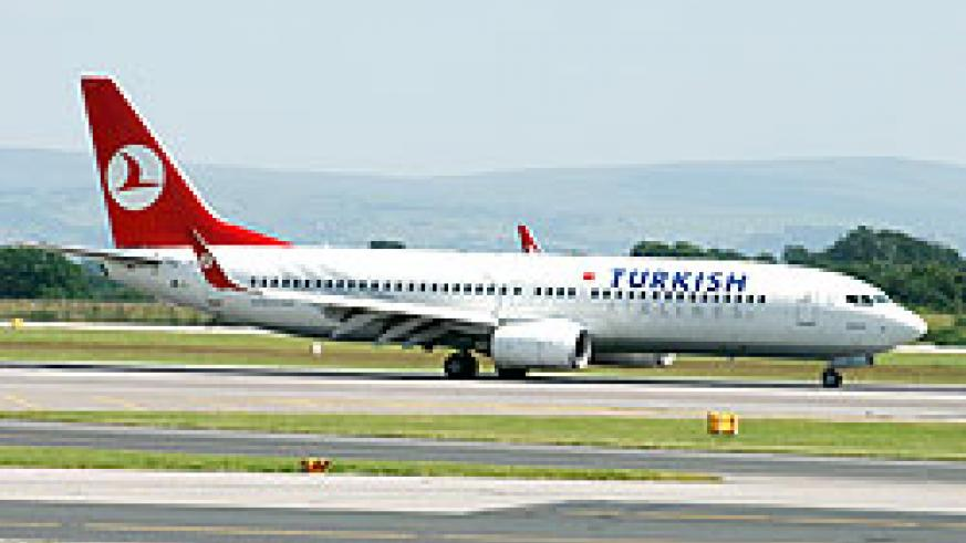 Turkish Airlines will be commencing flights into Kigali from April 2012 which will facilitate visitors into the country. The New Times File photo