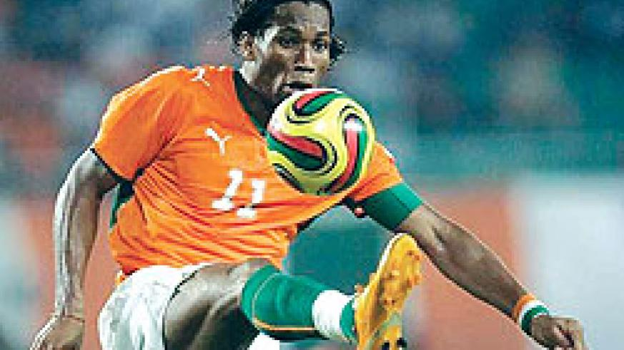 The absence of Drogba could be a huge boost for Amavubi Stars. Net photo.
