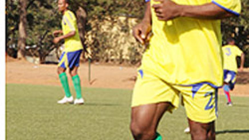 DR Congo based striker Labama Bokota is expected to join Amvubi training camp today ahead of Saturday's 2012 CAN qualifier against Ivory Coast. The New Times / File photo
