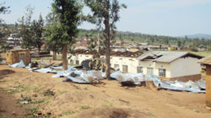 Heavy rains have damaged a number of schools and homes in Nyagatare and Gatsibo districts in recent years. The New Times /Dan Ngabozinza