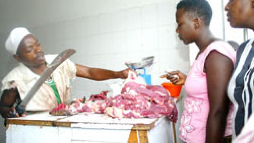 Butcheries in various parts of the country cashed in on Eid Ul Fitr celebrations yesterday. The New Times /File