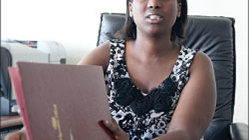 Registrar General of Companies Louise Kanyonga. The New Times / File photo