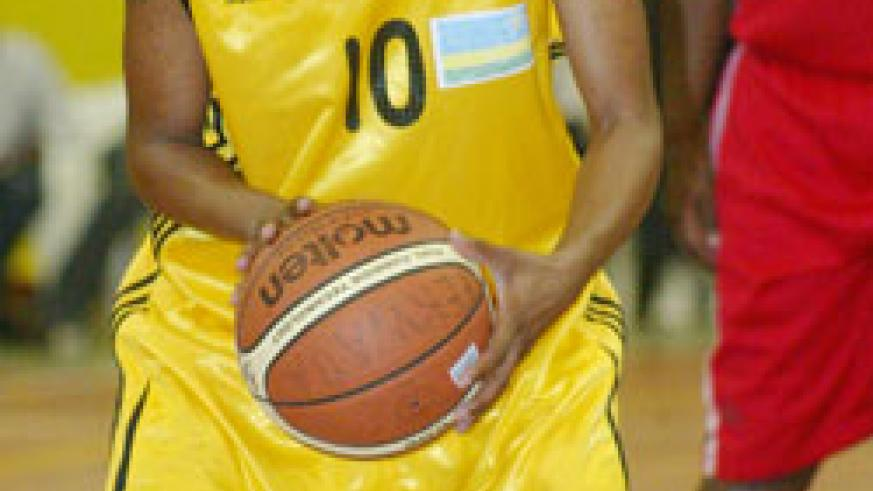 Honore Ayebare was voted the Most Valuable Players (MVP) during the  zone V championship. The New Times / File