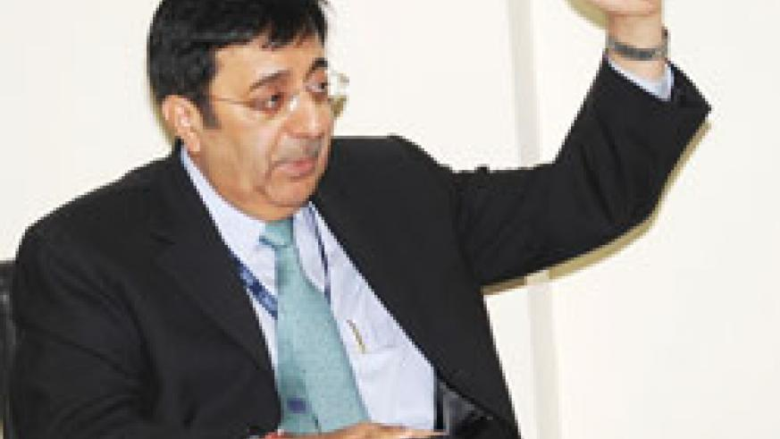 Optimistic. BCR's Managing Director, Sanjeev Anand The New TImes /File