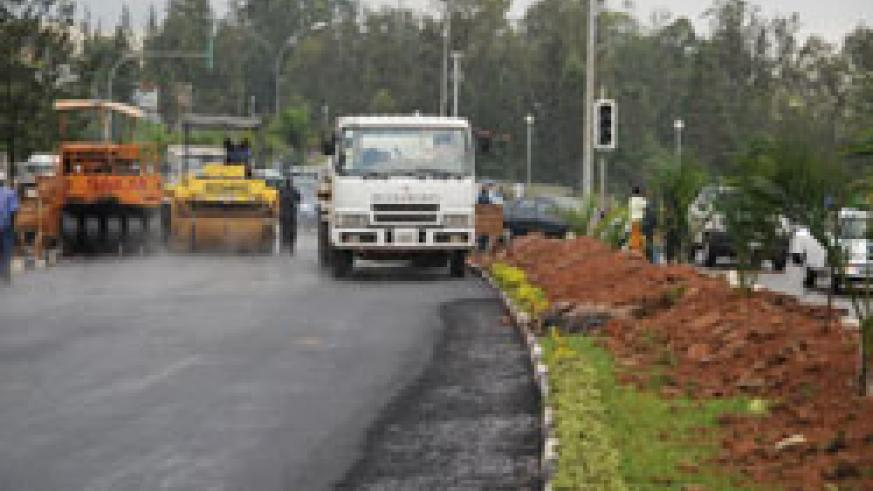 Roads in the country will be expanded by  Parsons, an American firm. The New Times /File photo