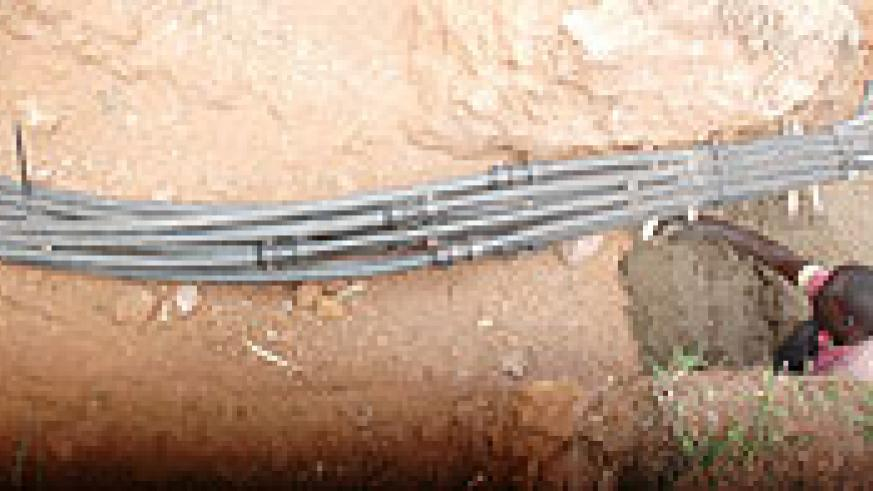 The rollout of the fibre optic cable across the country has enhanced services at different institutions. The New Times/ File photo