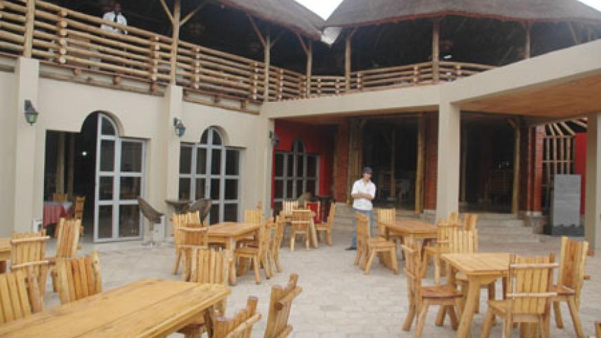 A front view of Mama Africa restaurant which also belongs to Cobra.  The New Times / File.