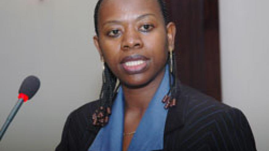 Vice Governor of the National Bank of Rwanda Monique Nsanzabaganwa.The New Times /File