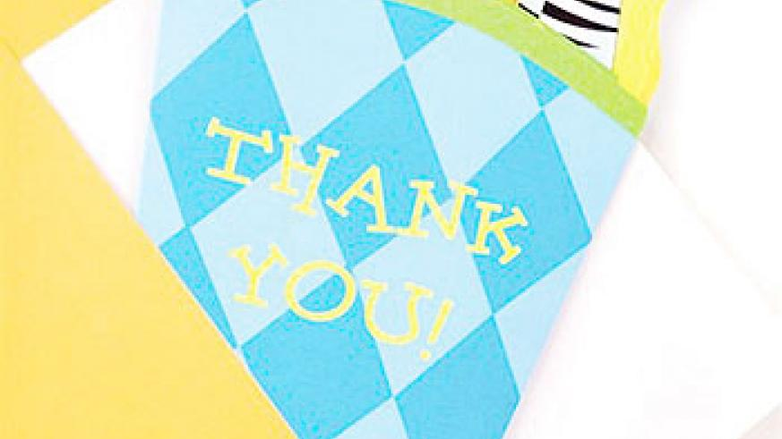 Saying 'Thank You' is good character.