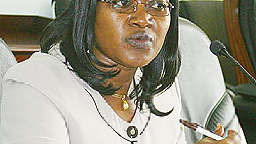EAC Minister Monique Mukaruliza. The New Times File