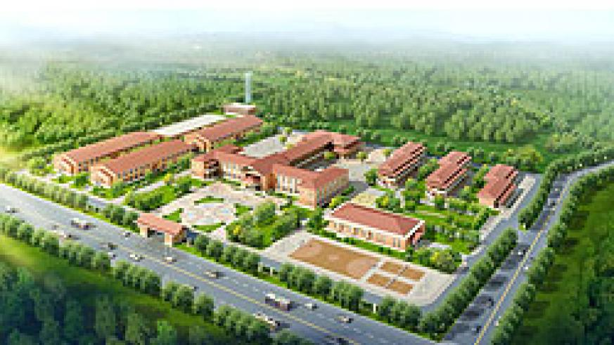 An artistic impression of the model Technical and Vocational school to be built by the Chinese in Musanze District. The New Times /Courtesy